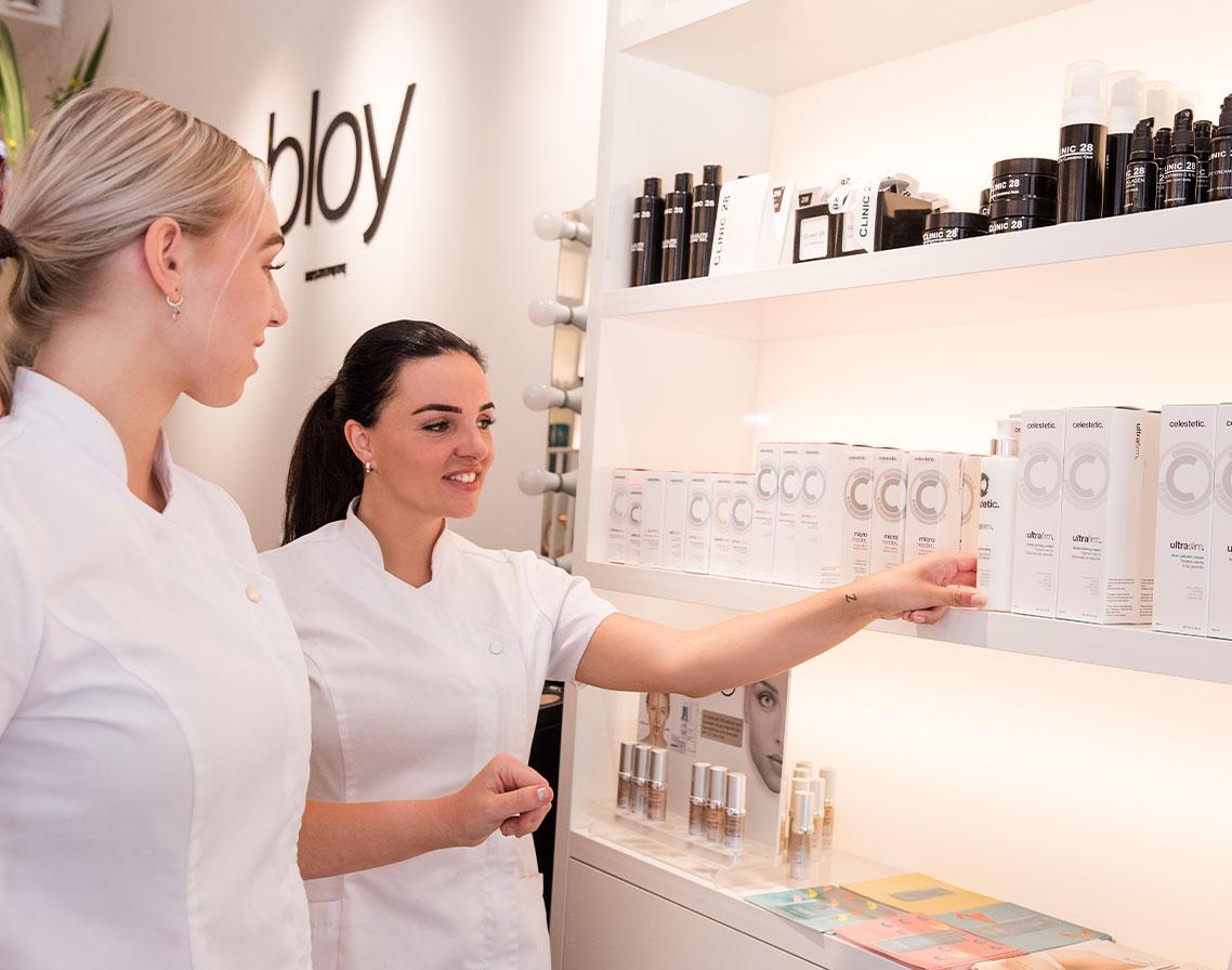 Winkel producten | BLOY Institute Amsterdam